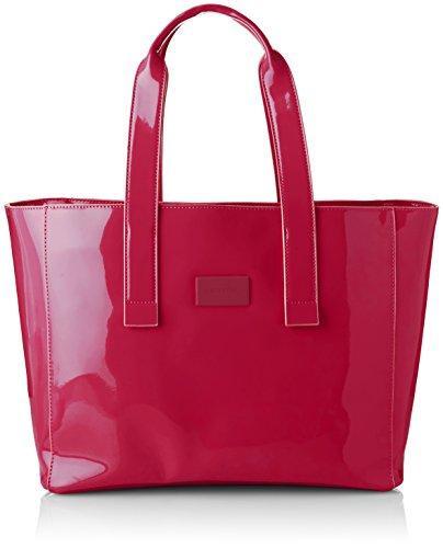 comma Damen Hello Sunshine Shopper Xlhz Tote, Pink, 17x29x50 cm
