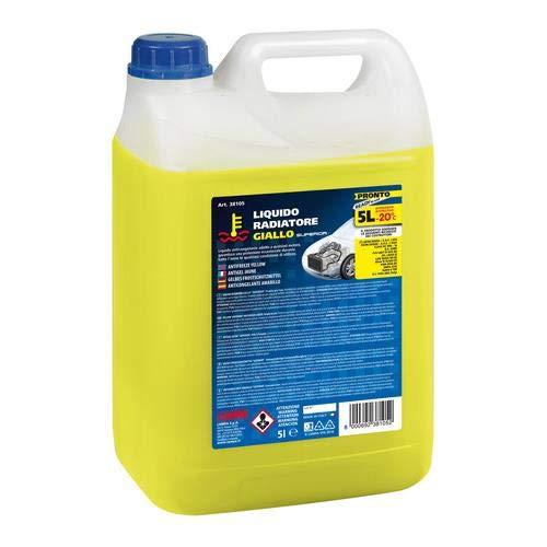Lampa 38105 Liquido Radiatore Giallo 5 Lt Pronto (-20 C) T