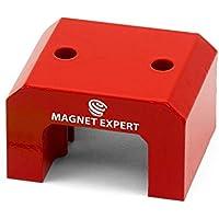 Imán expertos f4m815–10Imán de herradura, rojo (Pack de 10)