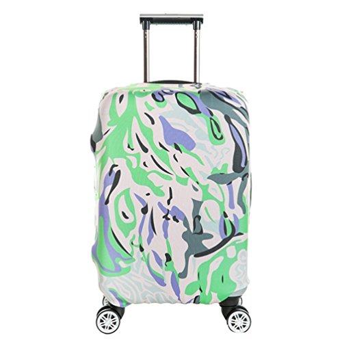 YiJee Covers Kofferschutzhülle Mit Trendigen Drucken Abdeckung Wie Das Bild 2 M