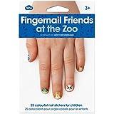 NPW - Pegatinas para decorar las uñas. Amigos del Zoo