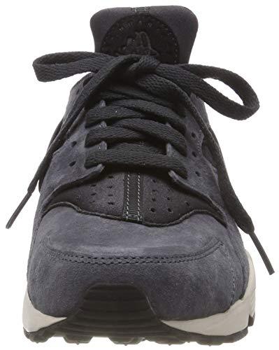 newest 80d31 530c6 Nike Air Huarache Run Premium Anthracite, Black   Light Bone   704830-016    FOOTY.COM