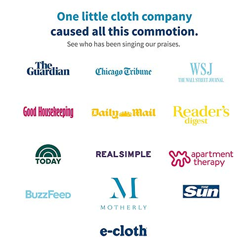 e-cloth Bathroom Pack Dusting Cloths , Yellow -2-Piece
