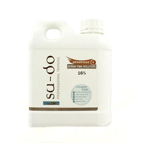 Sudo Professional Tanning Advantage 9 Spray autobronzant 16% 1000 ml