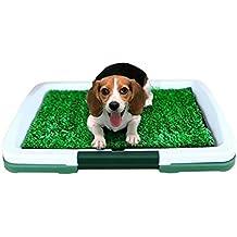 DAN Perro Inodoro césped 3 Capa Aseo pequeño Perro Inodoro Perro urinario Suministros para Mascotas