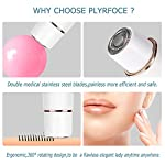 Facial Hair Removal For Women 4 In 1 Painless Electric Hair Removal Kit With Facial Shaver Nose Trimmer Eyebrow Trimmer Body Shaver Waterproof Flawlessly Hair Remover With USB Charging And Brush
