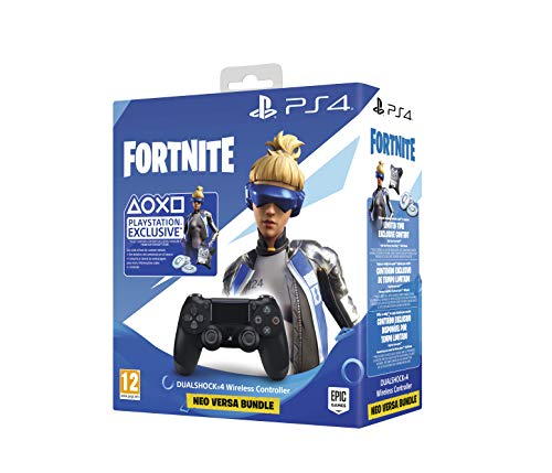 Sony - DualShock 4 V2 Fortnite VCH 2019 500 Vbucks, Negro (PS4)