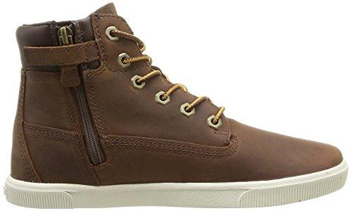 Timberland 2 0 Ek6Inlace/Zip, Baskets mode garçon Marron (Light Brown)
