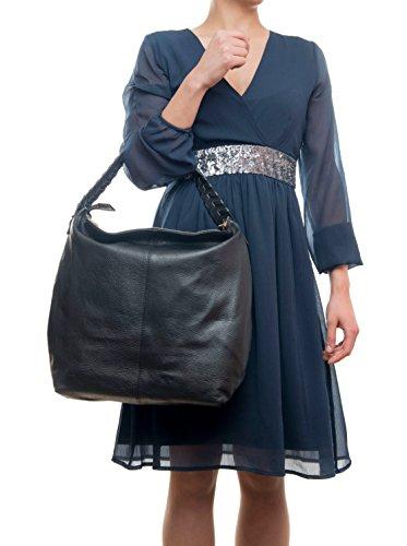 Mila Blu, Borsa tote donna BLACK (10)