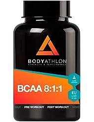 BCAA 8:1:1 - 90 cápsulas - 1000mg de Aminoácidos ramificados esenciales