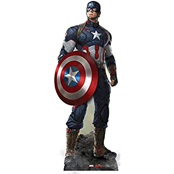 Size Stand In Cardboard Cut out Star Cutouts SC814 Avengers Assemble Child