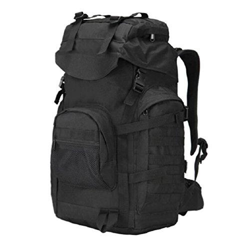 LJ&L 20-35L Kapazität Outdoor Sport taktische Tarnung wasserdichte Bergsteigen Wanderung Schulter Tasche, Oxford Tuch langlebig langlebig C