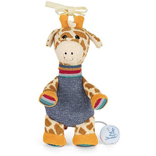 Sterntaler Mädchen Spieluhr Kuschelzoo, Stofftier Giraffe Greta, Integriertes Spielwerk, Größe: S, Bunt - Giraffe Kuscheltier 36