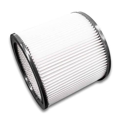 vhbw Rund-Filter/Falten-Filter für Staubsauger, Saugroboter, Mehrzwecksauger ShopVac Classic 20, 20 Inox