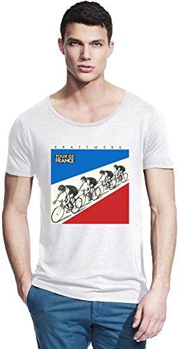 Kraftwerk Tour De France Bamboo Wide Neck T-shirt Large