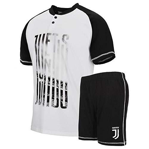 d51baa8d70 Vari Pigiama Uomo Juventus Corto Abbigliamento Estivo Juve PS  30059-XL-bianco