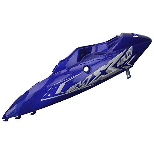 Xfight-Parts Seitenverkleidung links hinten blau 111 mit Dekor 4Takt 50ccm GMX 550