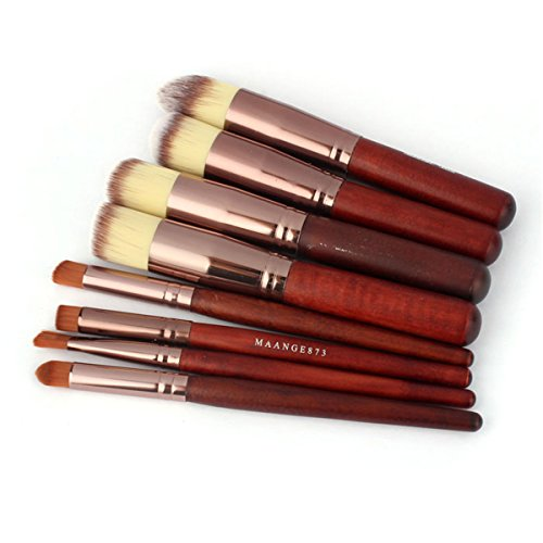 rosennie-8pcs-makeup-cosmetic-brushes-set-face-eyeshadow-nose-foundation-kit-coffee
