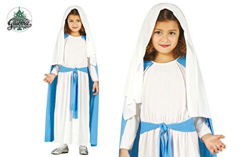 Jungfrau Maria Kostüm für Mädchen Gr. 98-146, (Heilige Kostüme Maria)