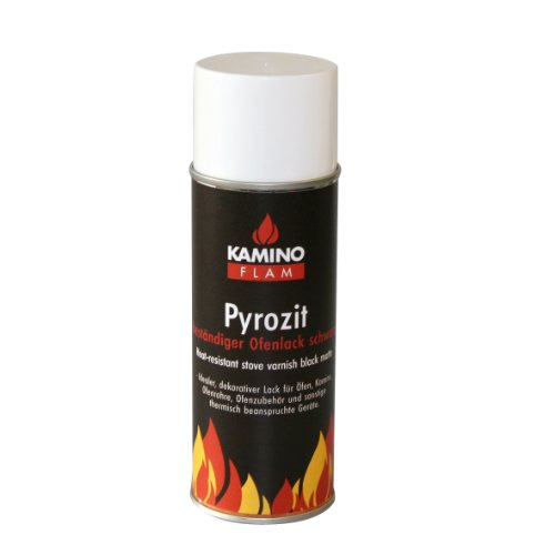 Kamino-Flam 333330 Ofenlack-Spray 300 ml, schwarz matt