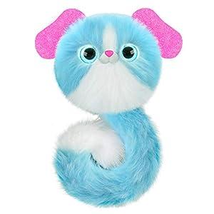 Pomsies 82478 Lulu - Juguete para Mascota, Color Azul y Blanco