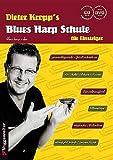 BLUES HARP SCHULE FUER EINSTEIGER - arrangiert für Mundharmonika - mit CD - mit DVD [Noten / Sheetmusic] Komponist: KRO