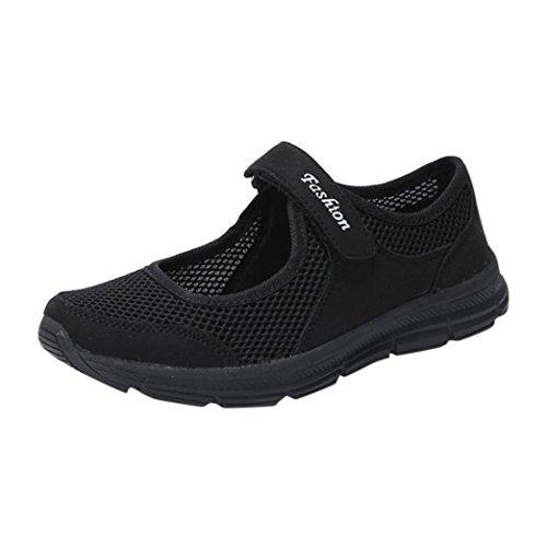Schuhe Damen Sneaker Flache Stiefel Freizeit Sport Atmungsaktiv Licht DOLDOA