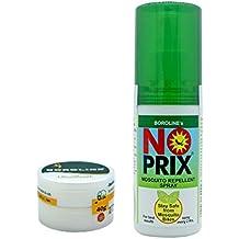 Boroline Ultrasmooth Antiseptic Ayurvedic Cream 40 gm x 1 pcs + Noprix Personal Mosquito Repellent Spray 100 ml x 1 pcs