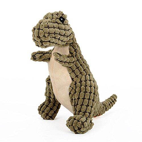 Haustier Hund Sound Molar Anti-beißende Spielzeug Labrador Samoyed Golden Retriever Französisch Bulldog Welpen Heimtierbedarf ( Farbe : Bronze )