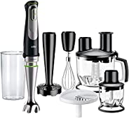 Braun Multi Mix Hand Blender, Black, Mq 9087 X
