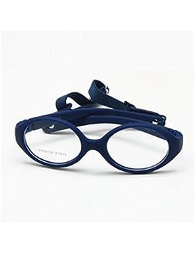 EnzoDate sin cuerda de beso) flexible, los pequeños correa, gafas y niños de gafas, sin Gafas plegable para bebé...