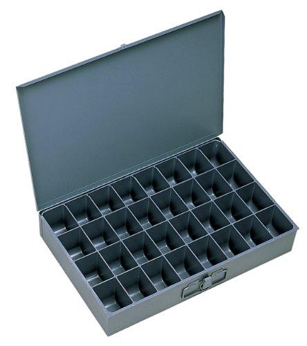 """Durham 107-95-ind gris frío acero laminado en caja individual de gran pala, 18\""""x 3\"""" altura x 12\""""Profundidad, 32compartimento"""