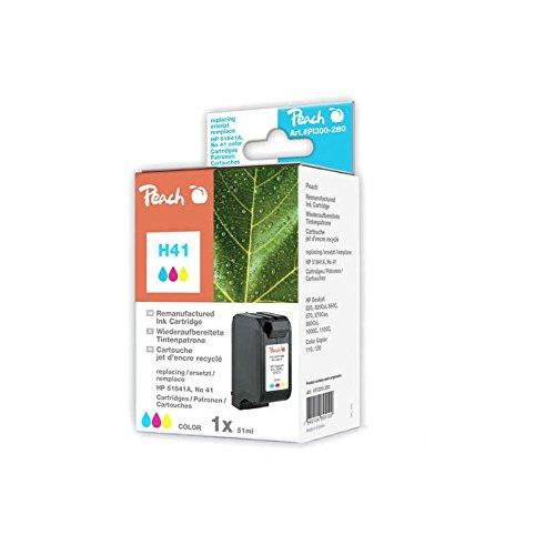 Preisvergleich Produktbild Peach Tintenpatrone color kompatibel zu HP, Apple No 41, 51641A