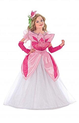 Blumenmädchen Kostüm, Kinderkostüm Blume, rosa & pink, Größe:116 (Kreative Halloween Kostüme 2017 Für Jungen)