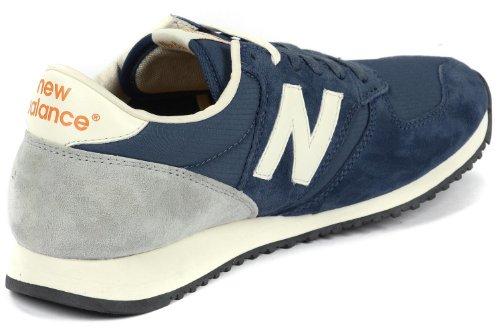New Balance U U420Ugb Baskets pour homme bleu gris