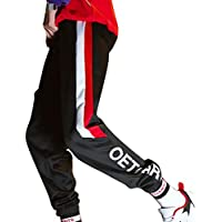 Fangcheng Hombres Rayas Pantalones Rectos Estilo De Ocio Microelástico Cintura Media Pantalones con Cordón Pantalones Deportivos Cómodos