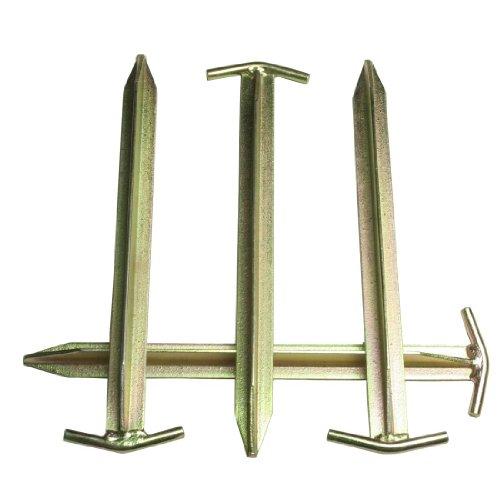10T Zeltheringe – Stahl T-Profil, 4er-Set - 6