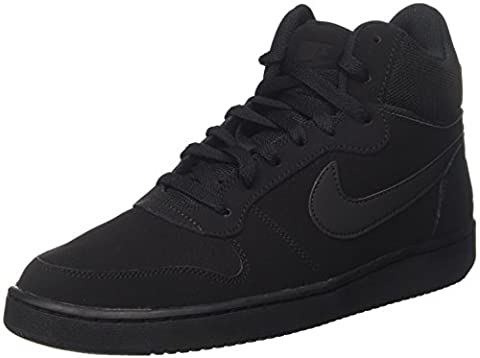 Nike Court Borough Mid, Baskets Hautes Homme, Noir (Black/Black), 42 EU