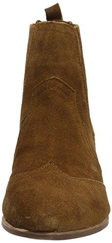 Dorothy Perkins Damen Nakita Western Chelsea Boots Braun (Tan)