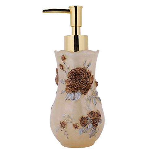 Garosa Beauty Club Händedesinfektionsmittel Flasche Europäischen Harz Emulsion Flasche Abgefüllt Hotel Duschgel Flasche Hochwertigen Stil Lotion Shampoo Container 300 ml - Stil-lotion-flasche
