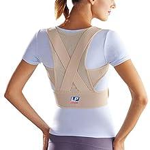LP Support 929 Bandage postural - Correcteur de posture, taille:M, couleur:nature