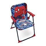 Arditex–009460–Klappstuhl für Kinder–Spiderman Maße–Garten Camping Haus–38x 32x 53cm