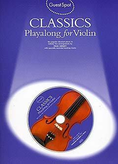 CLASSICS - arrangiert für Violine - mit CD [Noten / Sheetmusic] aus der Reihe: GUEST SPOT