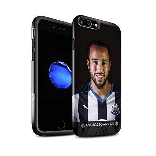 Offiziell Newcastle United FC Hülle / Glanz Harten Stoßfest Case für Apple iPhone 7 Plus / Rivière Muster / NUFC Fussballspieler 15/16 Kollektion Townsend