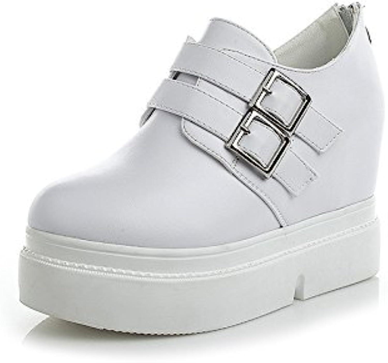 KHSKX-Pendiente Documental Zapatos Zapatos Casuales En El Fondo Grueso Otoño Nuevo Conjunto Pie De Tacon Alto...