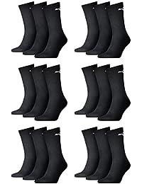 PUMA Unisexe ras du cou chaussettes socquettes de sport avec semelle bouclette 18 LOT