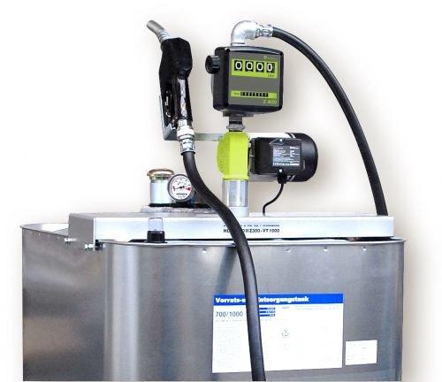 Hoftankstelle - Profi - Horn - 1000 Liter Dieseltank mit Pumpe -