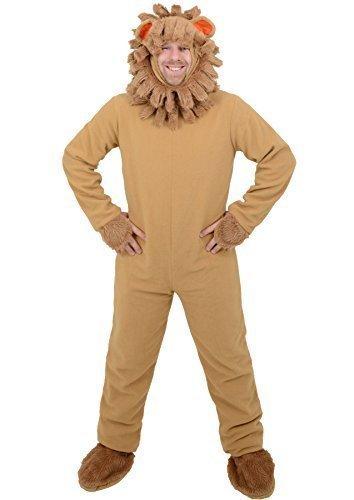 Imagen de disfraz león para adulto talla única