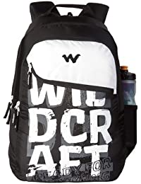 Wildcraft 35 Ltrs Typo_Blk Casual Backpack (11619-Typo_Blk)