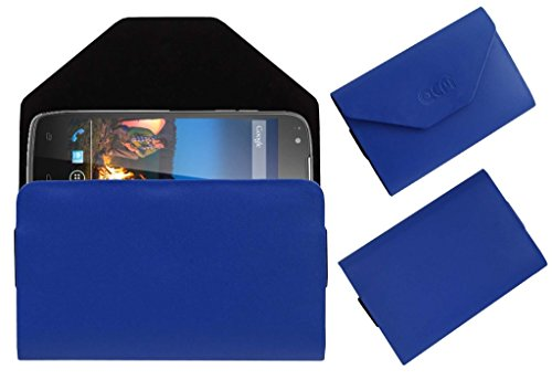 Acm Premium Pouch Case For Xolo Q700s+ Plus Flip Flap Cover Holder Blue  available at amazon for Rs.179